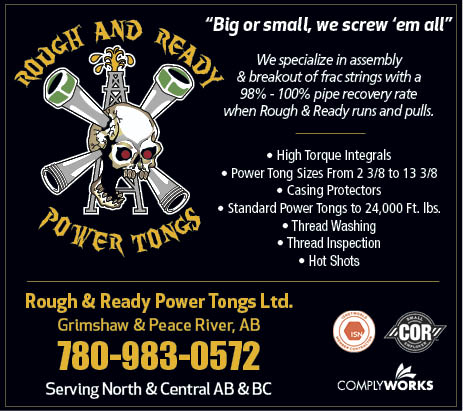 Power Tongs in Grimshaw, AB - Rough & Ready Power Tongs Ltd in